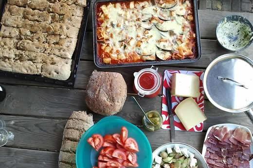 comida familiar