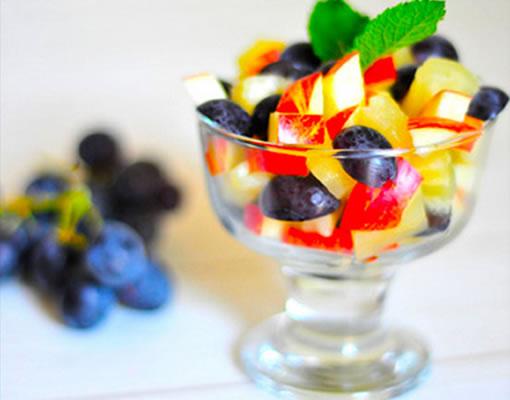 ensalada de frutas baja en calorias