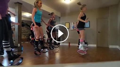 Bajar de peso y quemar calorías con los trampolines «Kangoo Jumps» ( Vídeo )