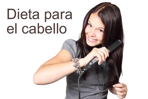 Dieta para conservar la salud del cabello