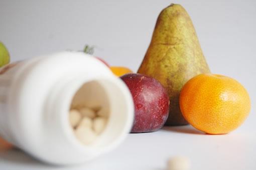 vitaminas saludables en la fruta