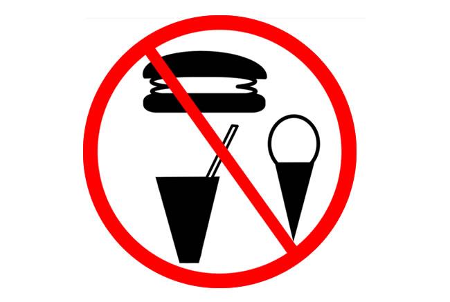 alimentos prohibidos