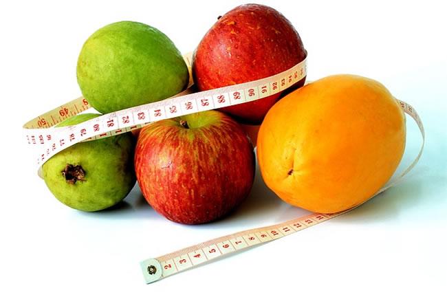 frutas y peso