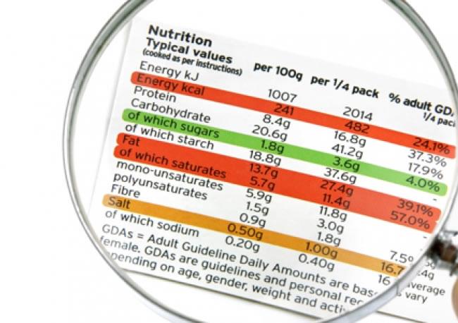 El etiquetado de los alimentos sigue interesando mucho a los consumidores
