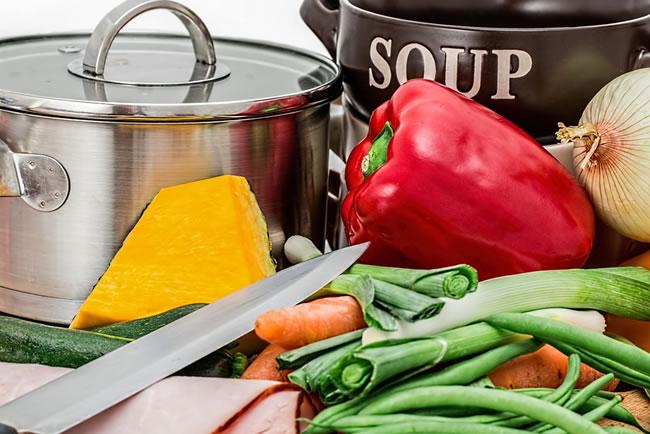 Set de cocina para preparar nuestra dieta