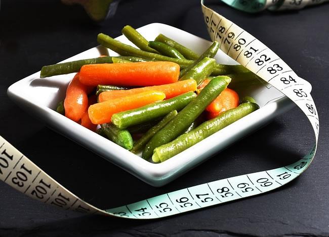 Un plato de verduras es mejor para cenar