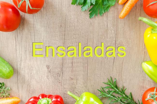 Receta para bajar de peso : ensaladas para adelgazar