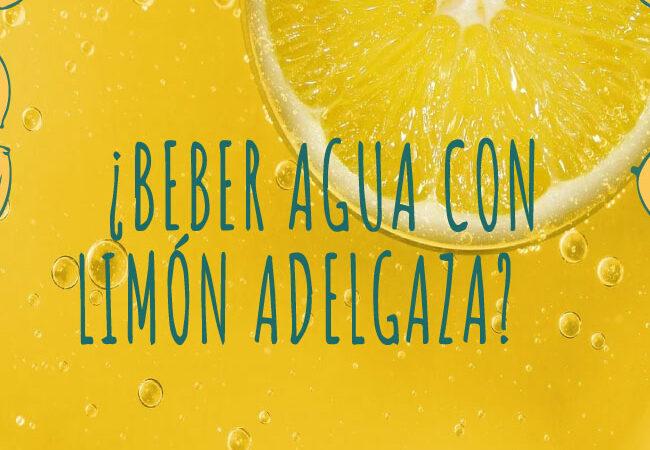¿Beber agua con limón adelgaza? Y otros beneficios