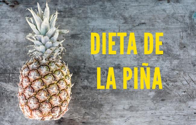 La dieta de la piña ¿Es segura para bajar de peso?