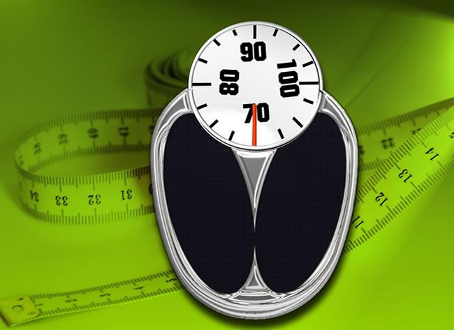 Controlar el peso con una balanza